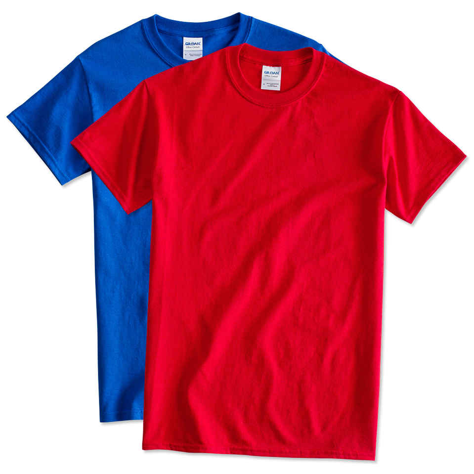 Red T-Shirts - Design Your Own Custom Red T-Shirts Online