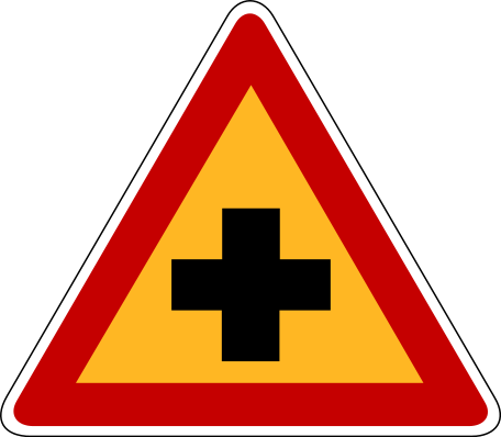 Cross Roads Sign Sign 101 Cross Road