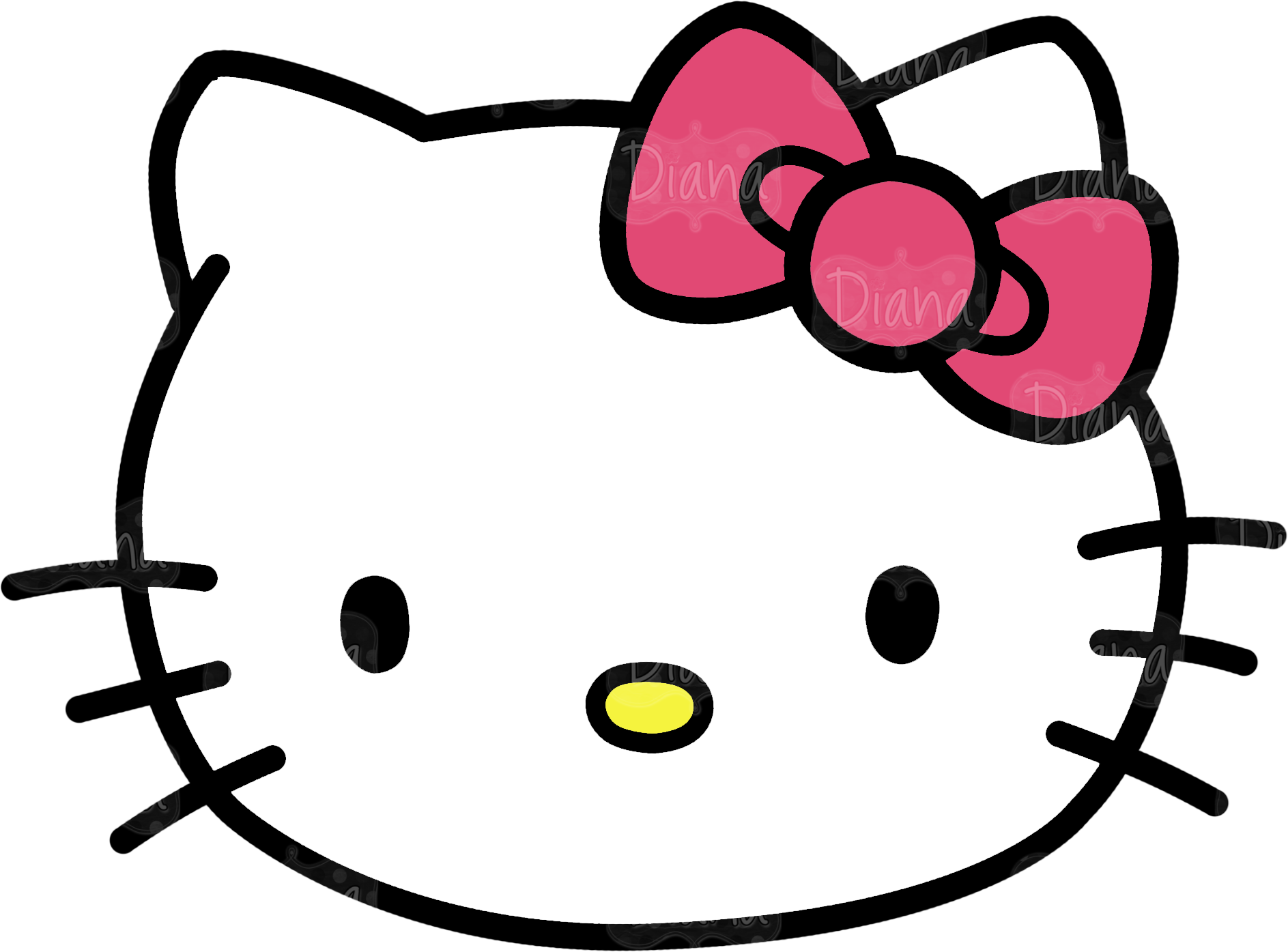 hello kitty template clipart best hello kitty template doliquid