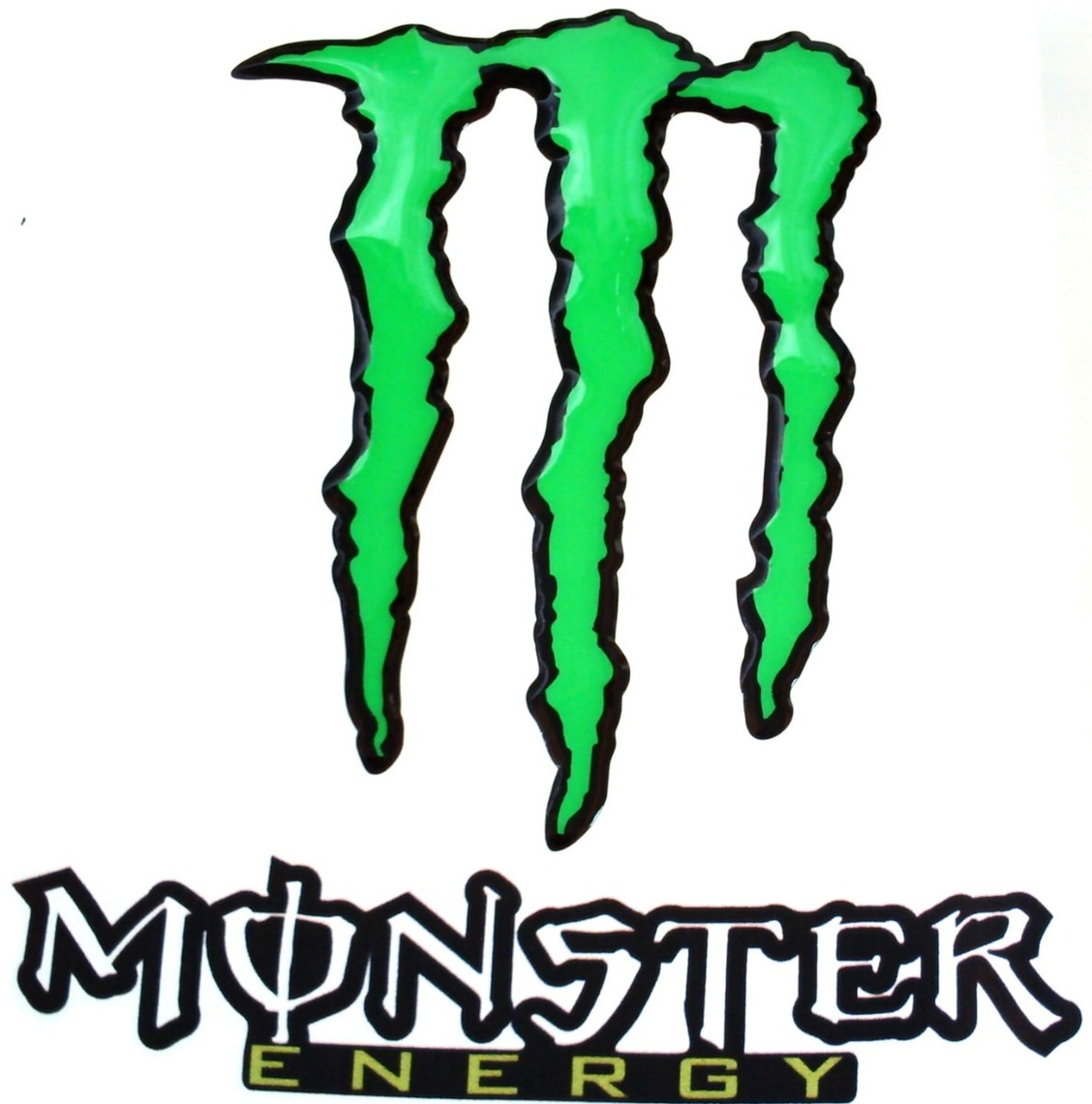 Monster Energy Logo Stencil Clipart - Free to use Clip Art Resource