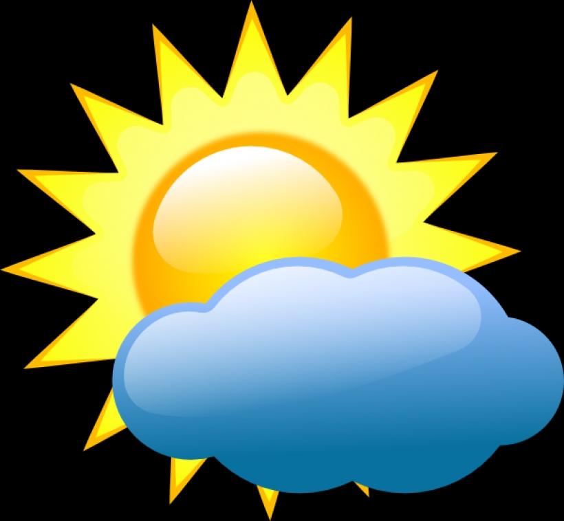 Sunny Weather Symbol : Weather symbols sunny clipart best