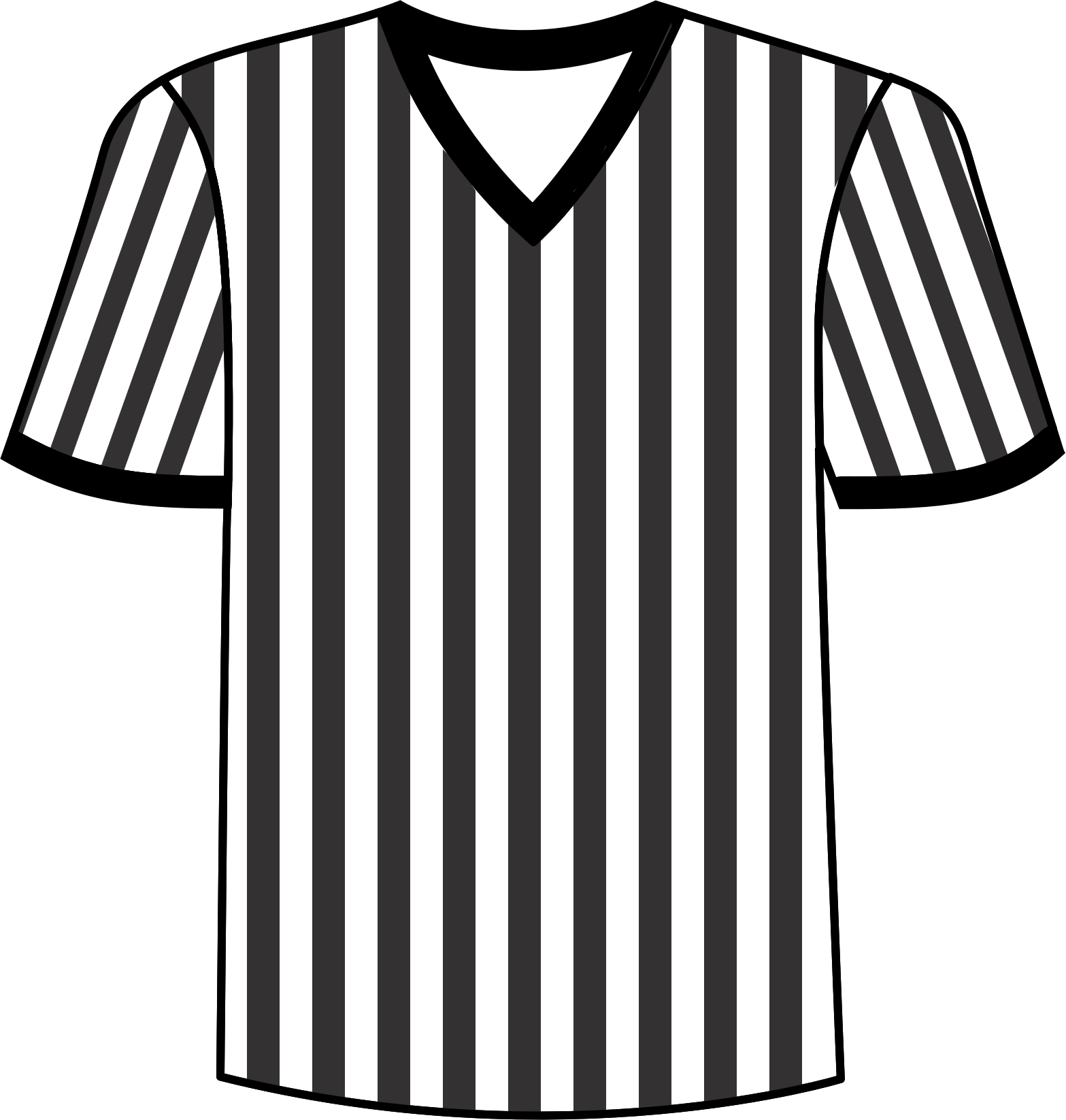 Referee clipart clipart best for Transparent top design