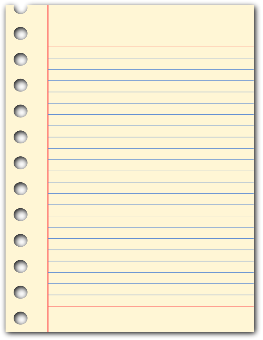 Blank Note Paper - ClipArt Best