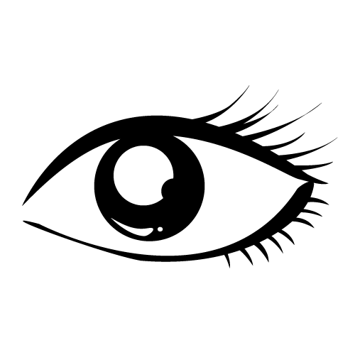 Eye Clipart Black And White - ClipArt Best