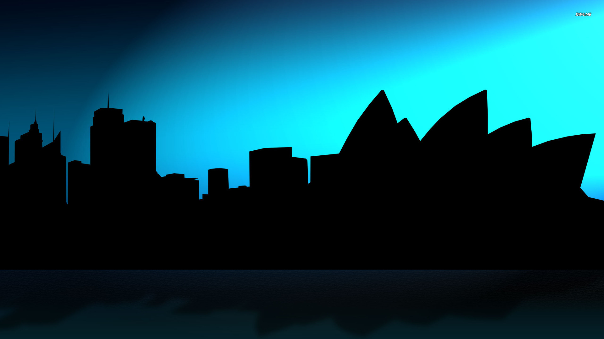Skyline Silhouette Wallpaper - ClipArt Best