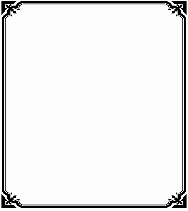 Classic page borders clipart best for Classic border design