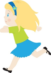 Blonde Girl Clip Art - ClipArt Best