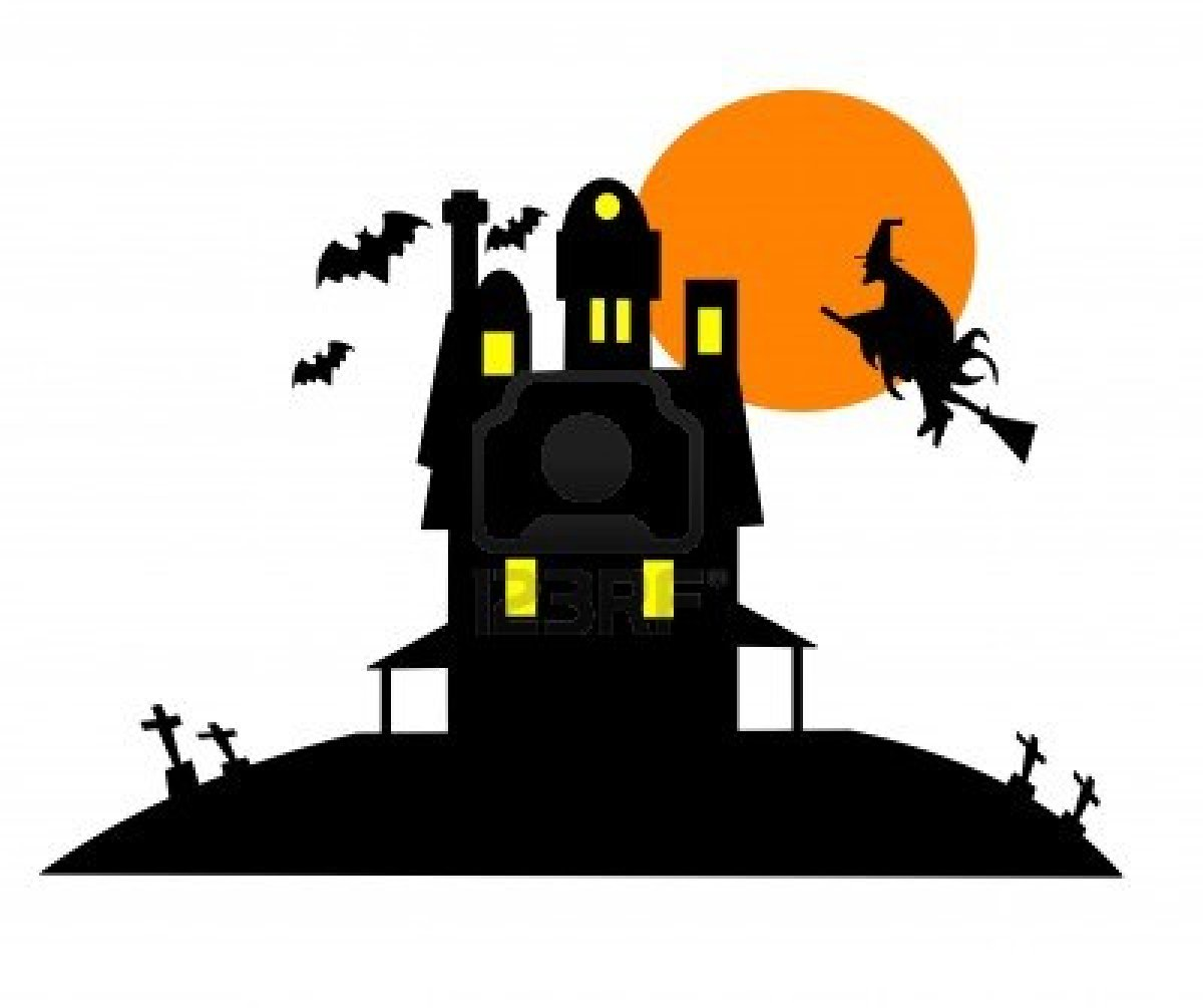Cartoon haunted house pictures clipart best - Cartoon haunted house pics ...