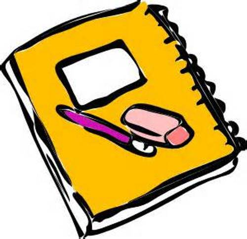 book and pencil clipart clipart best