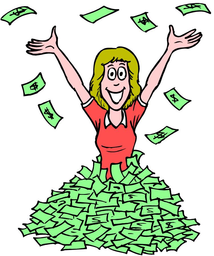 pile of money clipart - photo #20