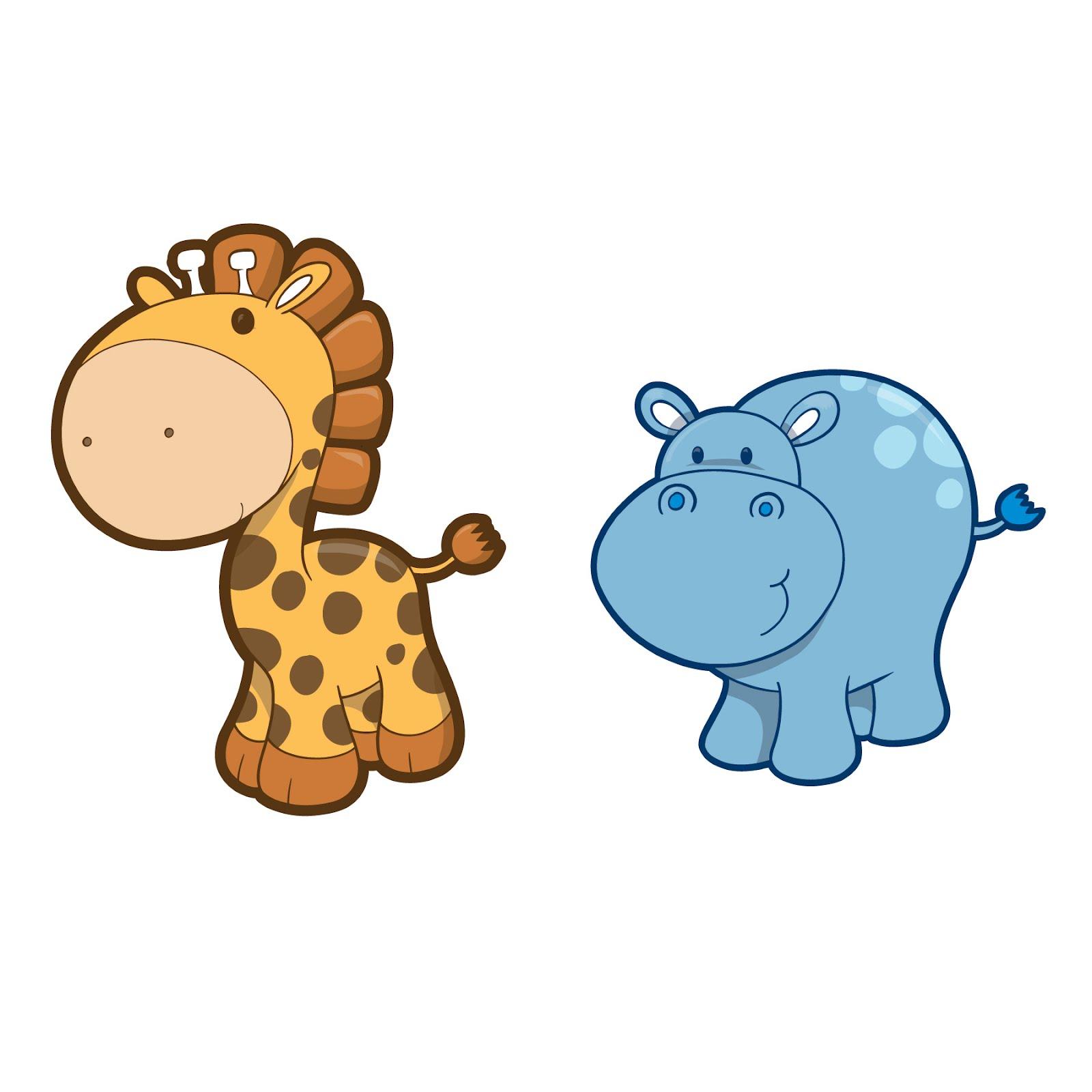 free clip art hippo cartoon - photo #43