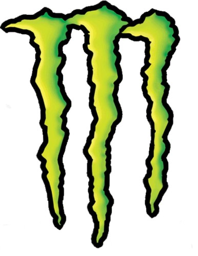 Monster Drink Stickers Free