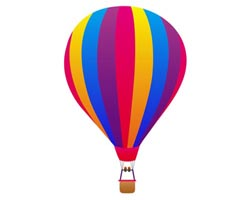 Hot Air Balloon Outline - ClipArt Best