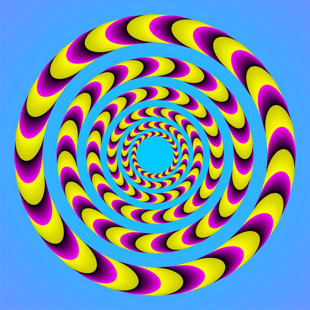 Moving Optical Illusions for Kids