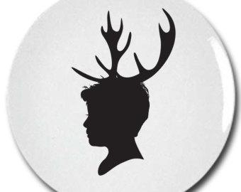 Deer Antler Silhouette - ClipArt Best