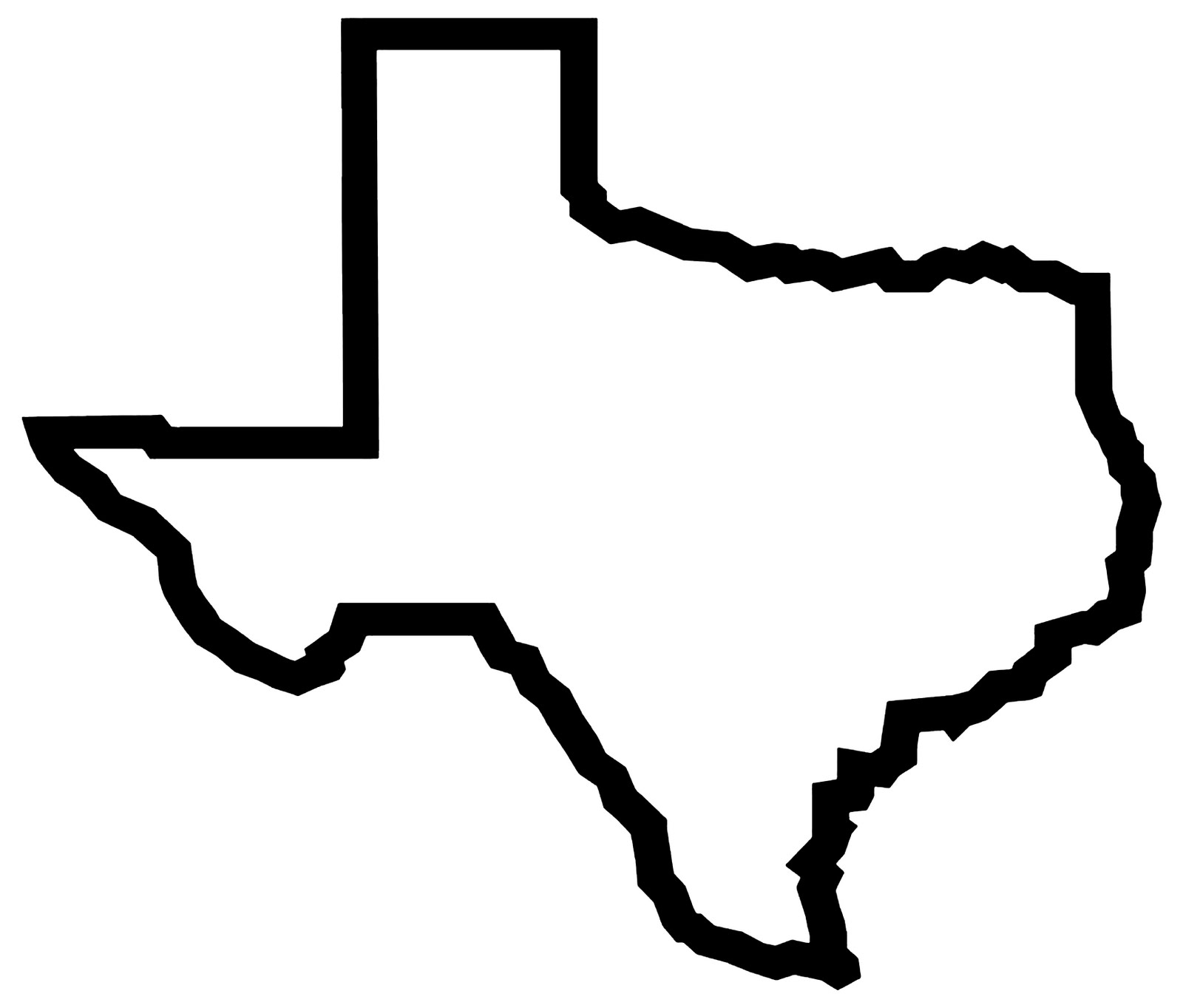 clipart map of texas - photo #24