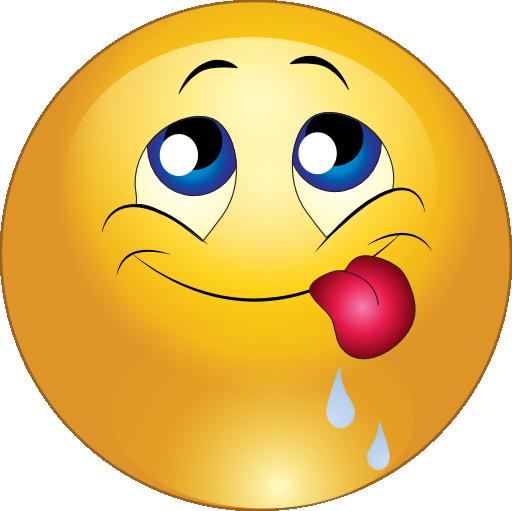 Delicious Smiley Emoticon Clipart Royalty Free ...
