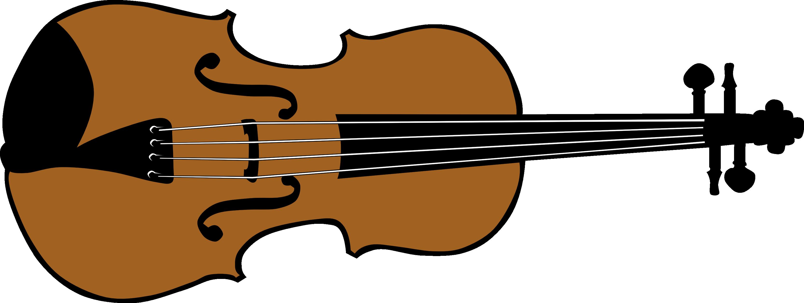 White Violin Drawing Violin 1 Black White Line
