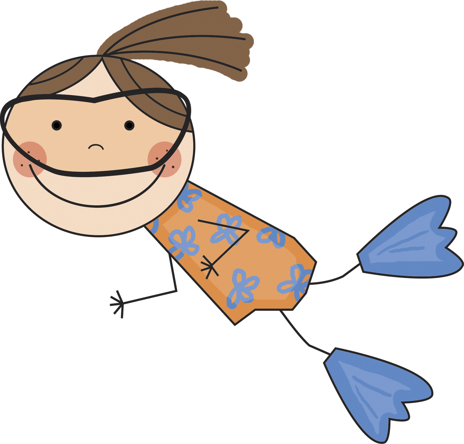 Free Kids Swimming Clip Art - ClipArt Best