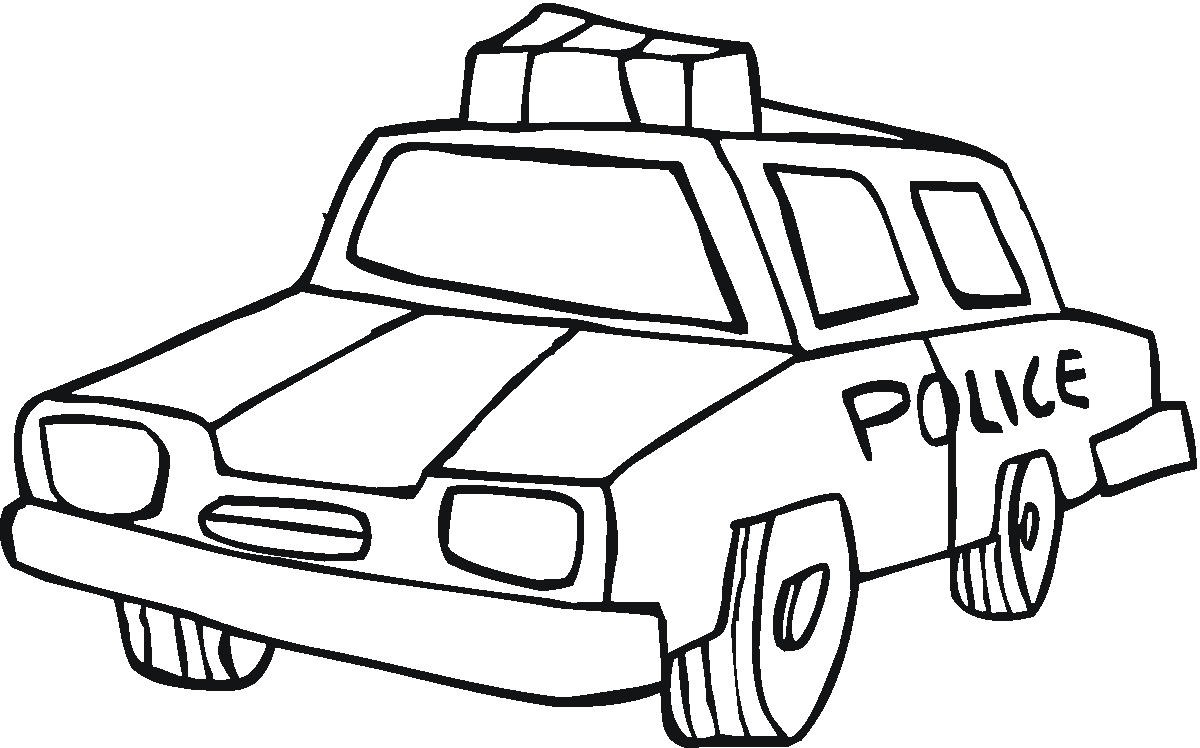 Police Station Coloring Pages Police Car Coloring Pages For