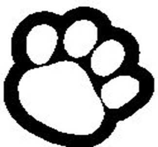 panther paws clip art clipart best