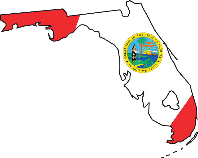Clip Art Of State Fl : Florida state flag coloring page clipart best
