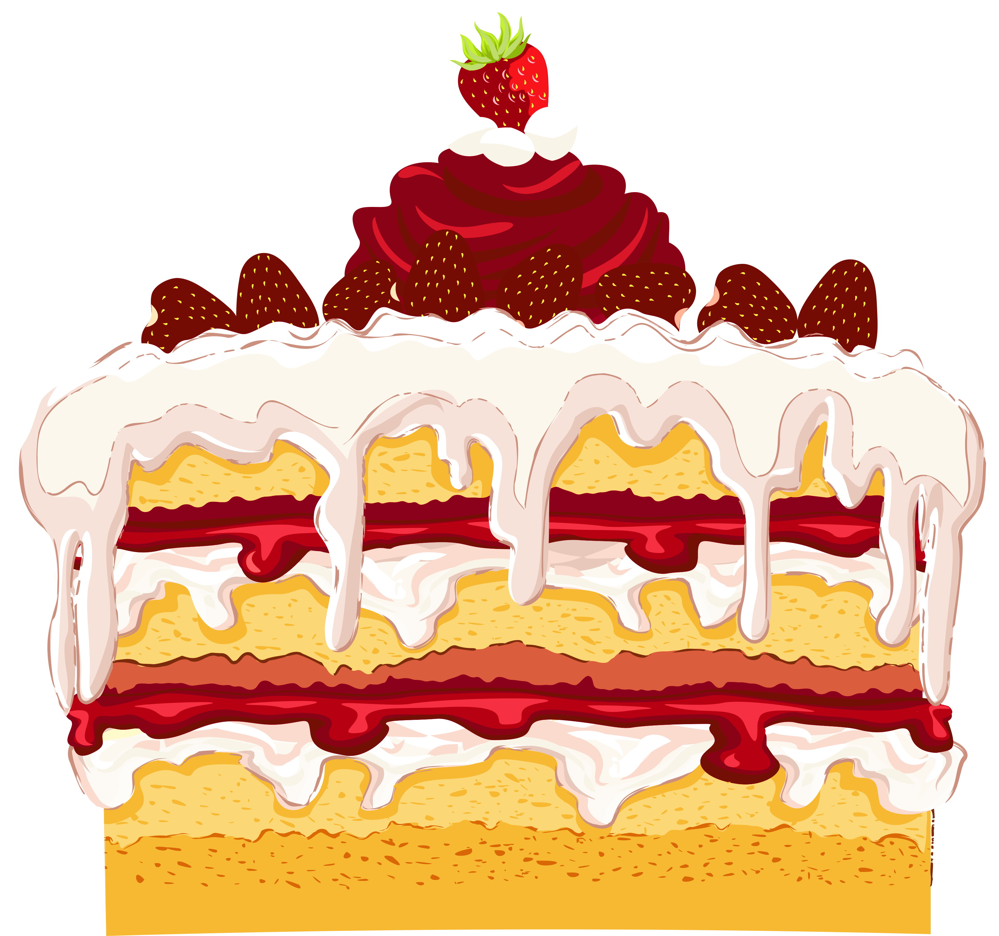 Strawberry Cake Png Clipart Clipart Best Clipart Best