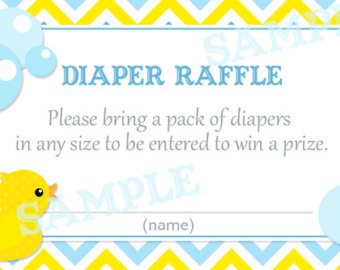 Free Diaper Raffle Tickets Template - ClipArt Best