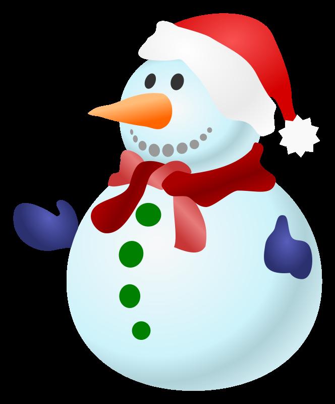 Funny Snowman Clipart - ClipArt Best