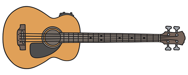 Vector Bass Guitar - ClipArt Best