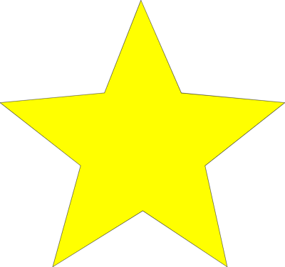 ... Of A Yellow Star | # 7945 ... - ClipArt Best - ClipArt Best
