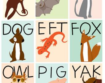 Animal Letter s Clip...