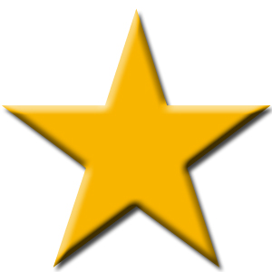 Yellow Star Shape - ClipArt Best