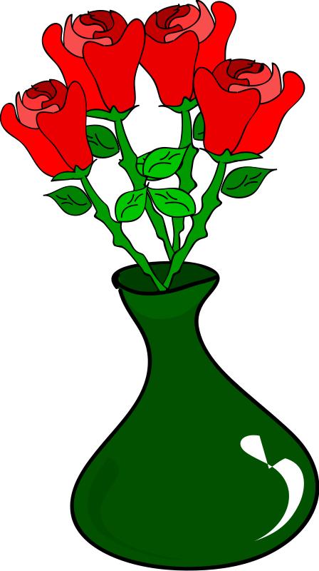 Flower Vase Clip Art Clipart Best