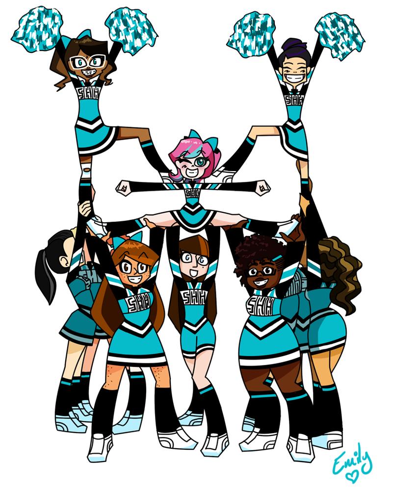 Cartoon Cheerleaders - ClipArt Best