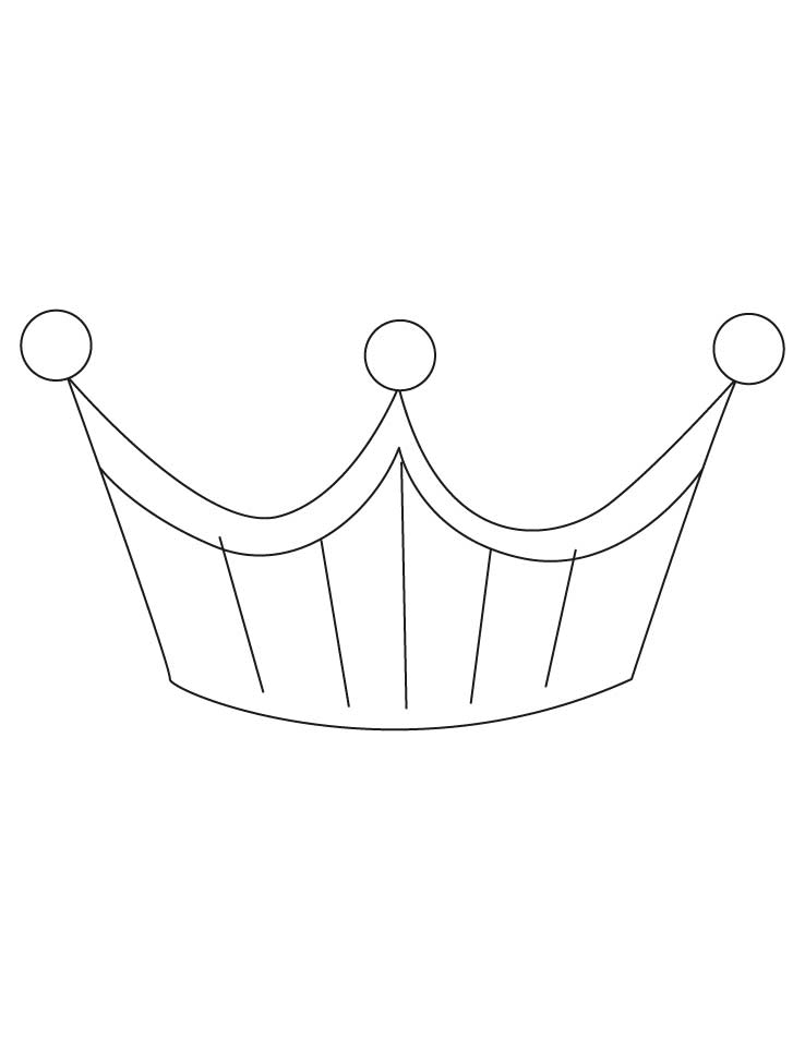 Free Tiara Designs Coloring Pages Tiara Coloring Page