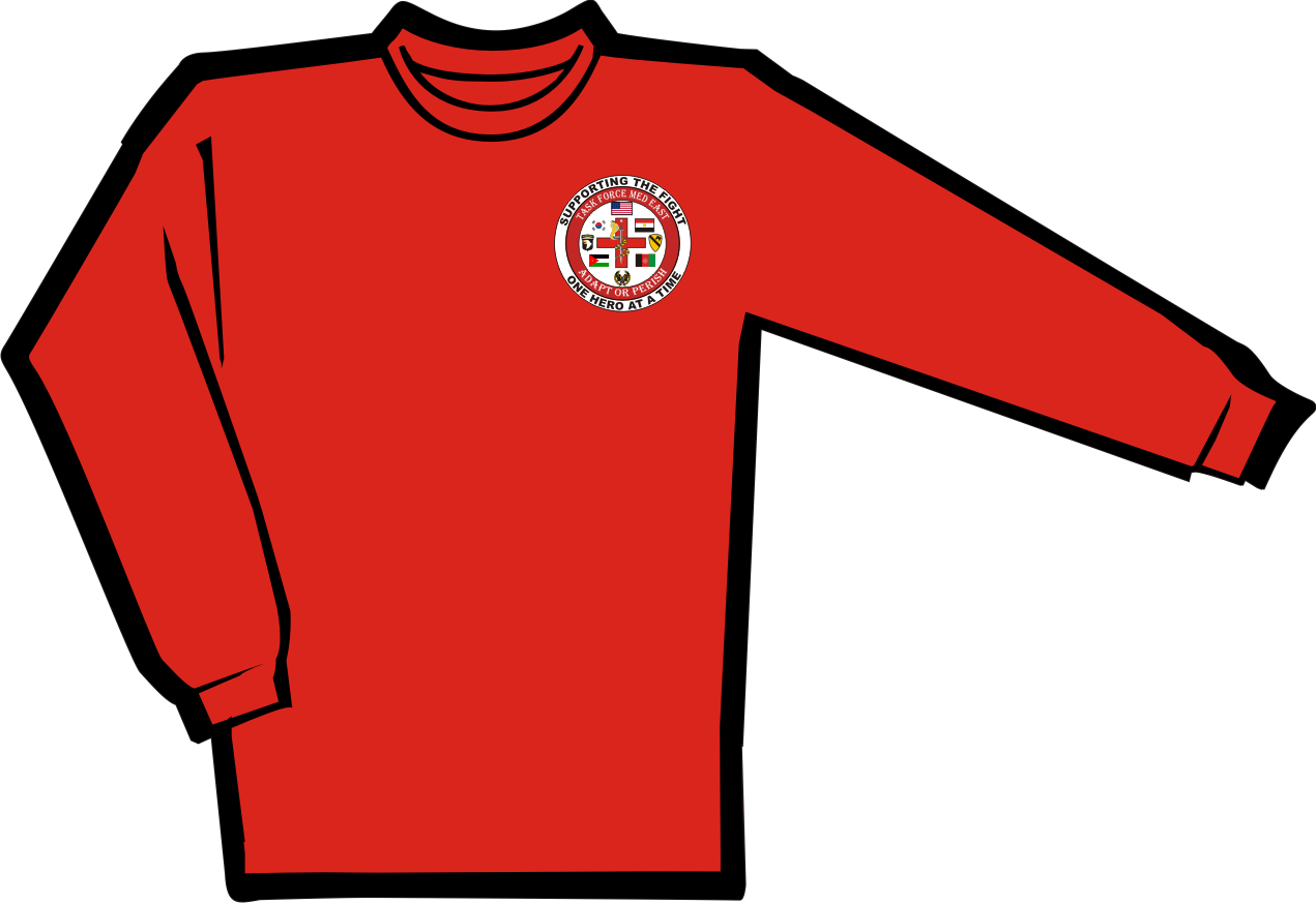 TASK FORCE MED EAST Long Sleeve Shirt [BB-G240] - $18.00 : Zen ...
