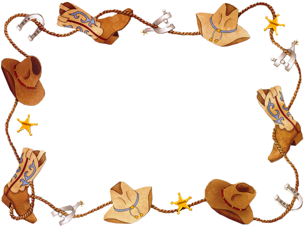 western clip art free borders - photo #10