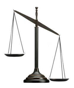 Scales Of Justice Uneven Clipart Best