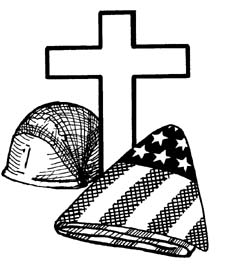 Memorial Day Clip Art Black And White - Free ...
