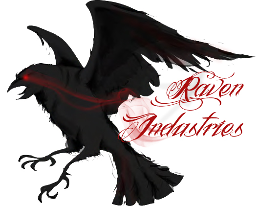 Logo Design 3 for Brand: Raven Idustries by darkgazer622 on DeviantArt