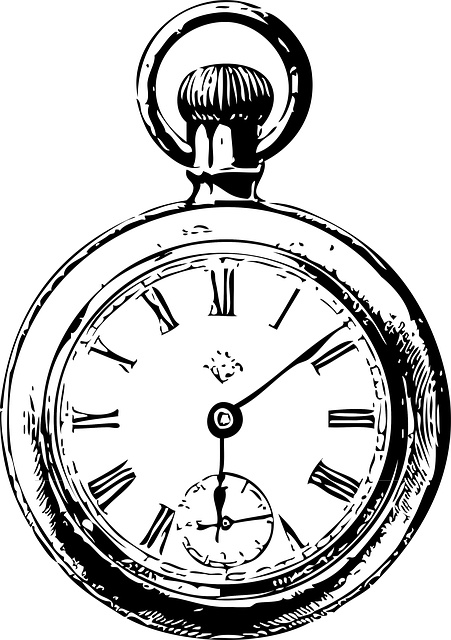 Line Drawing Clock : Clock drawing clipart best