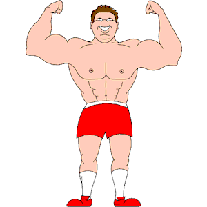 Body Builder 09 clipart, cliparts of Body Builder 09 free download ...