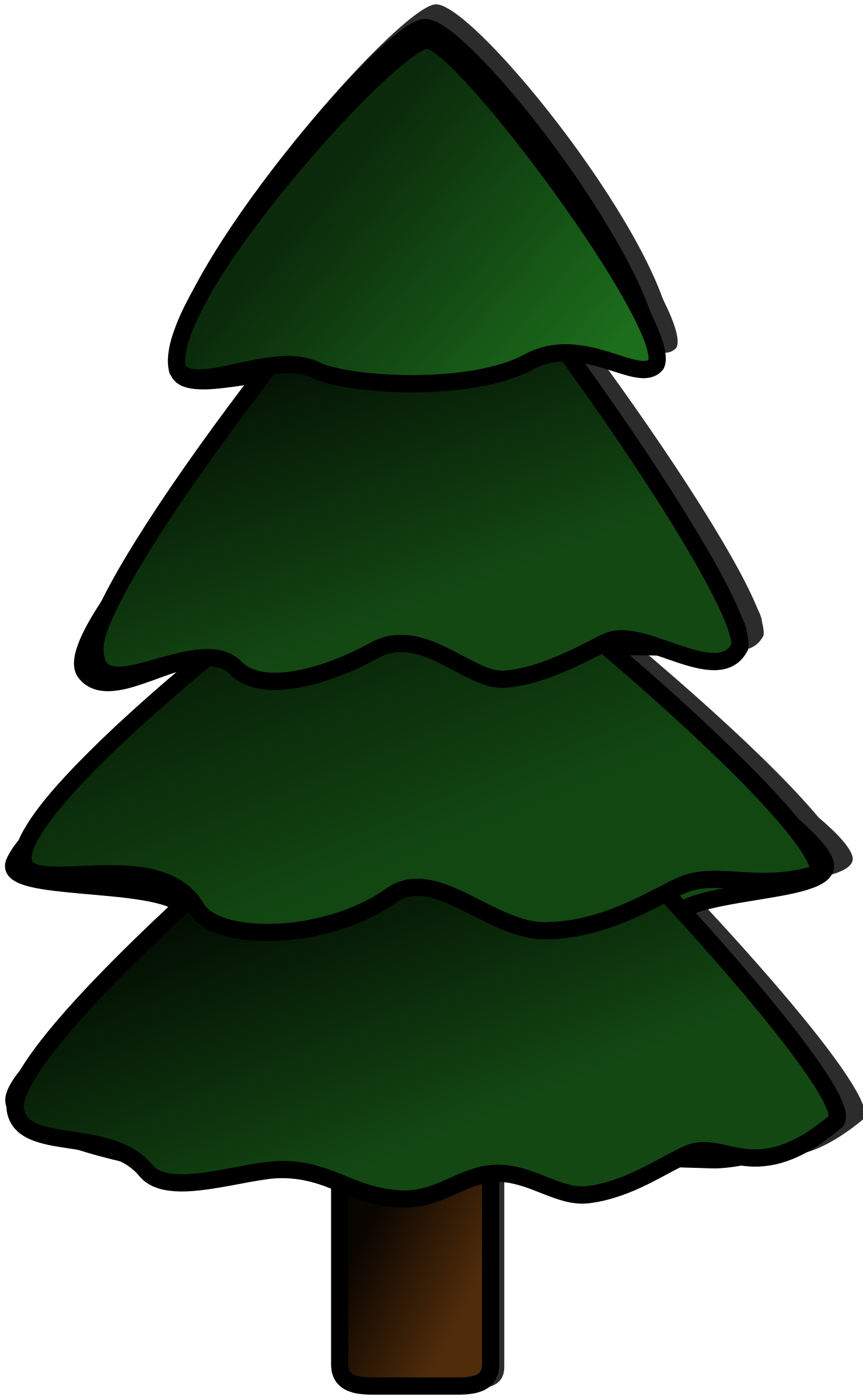 Clipart sapin pine tree tanne clipart best - Sapin clipart ...