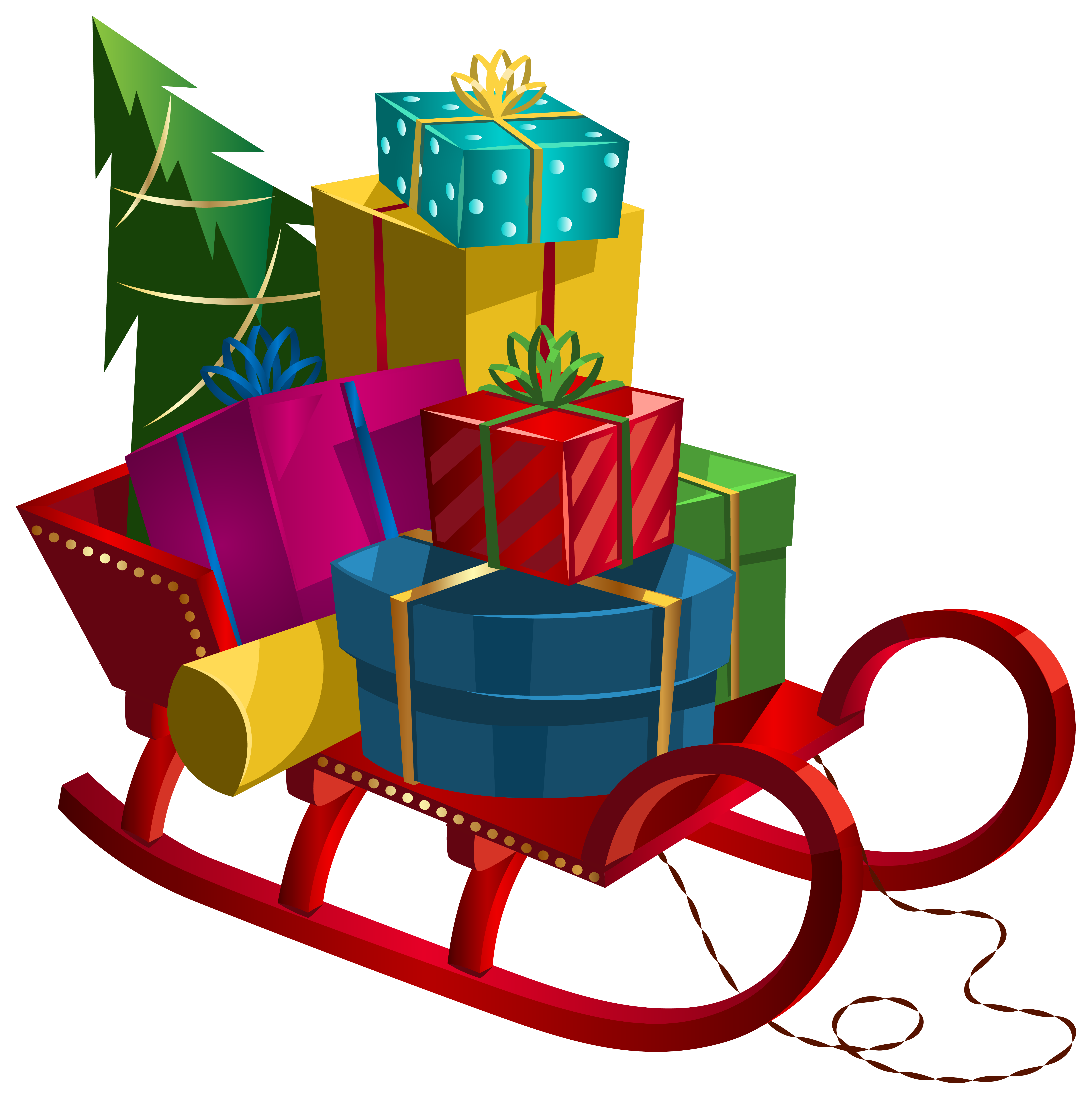 christmas gifts clipart - photo #34