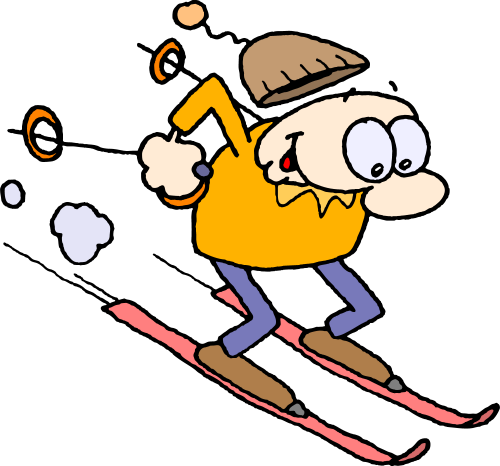Go Back > Gallery For > Cartoon Ski