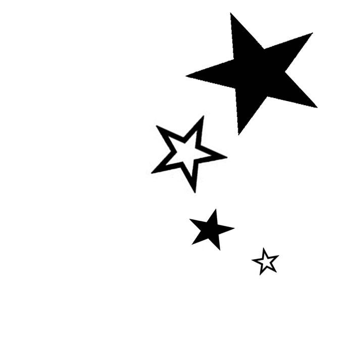 star flower tattoo clipart best. Black Bedroom Furniture Sets. Home Design Ideas