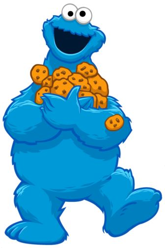 Free Clip Art Cookie Monster