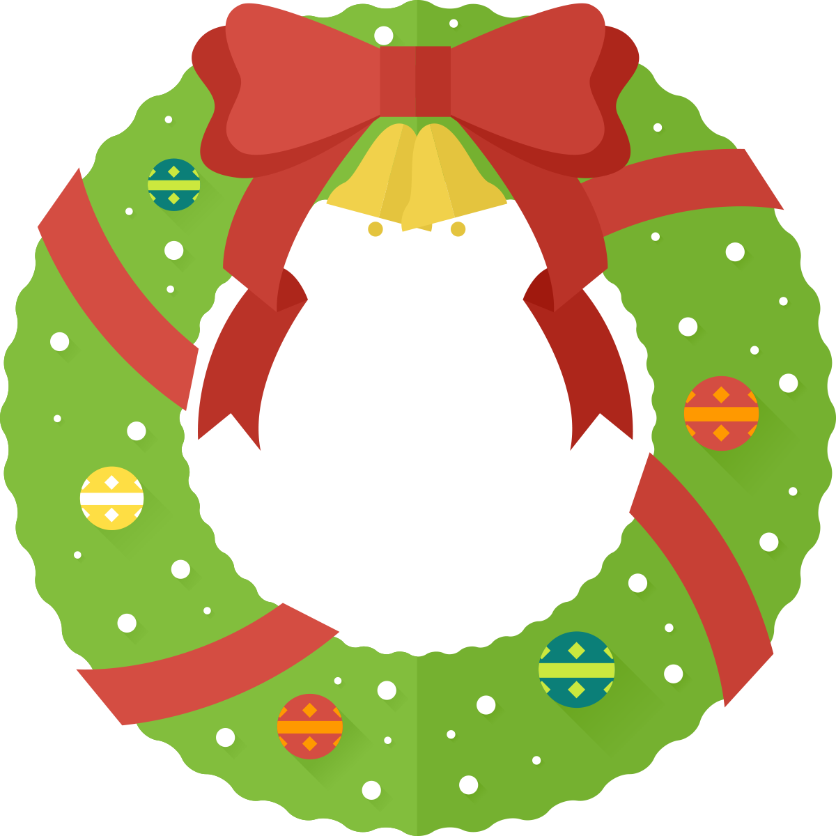 Christmas Garland Clipart Clipart Best