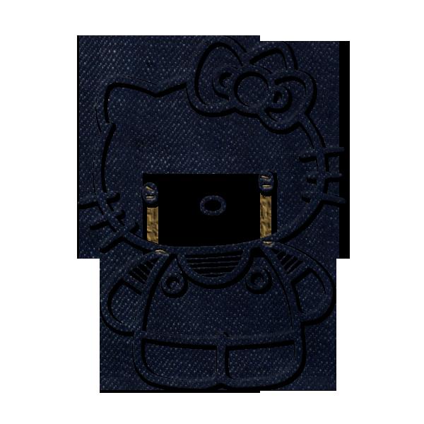 Hello Kitty Logo Black...